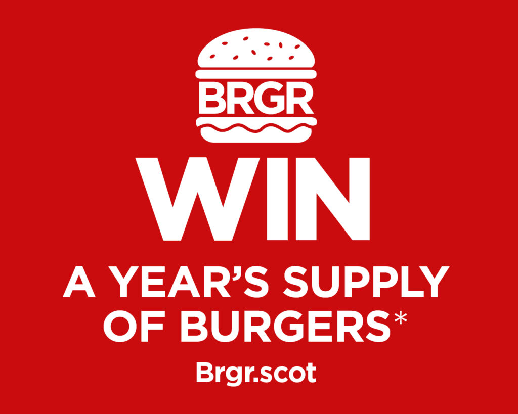 Win a year's supply of BRGRs